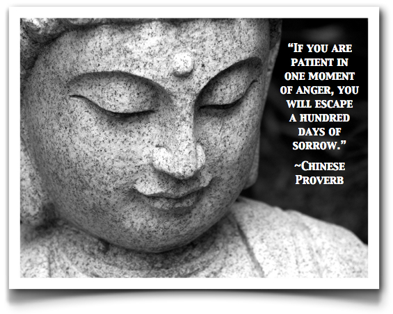 anger chinese proverb