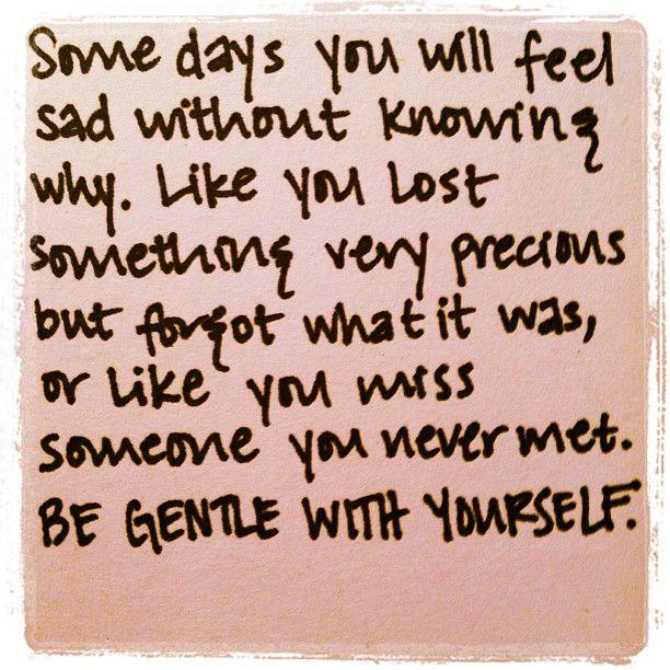 notes on sadness