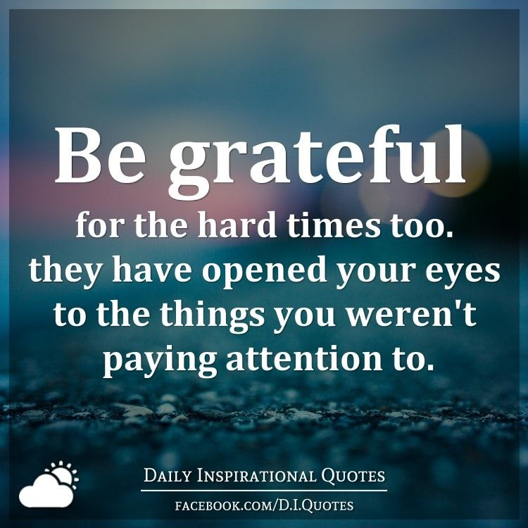 gratitude in hard times