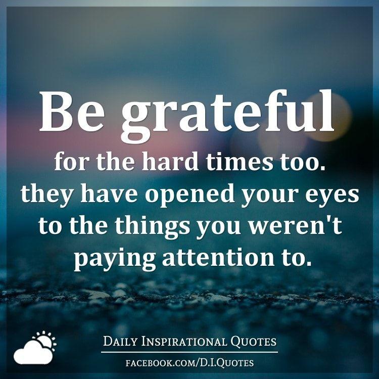 gratitude in hard times